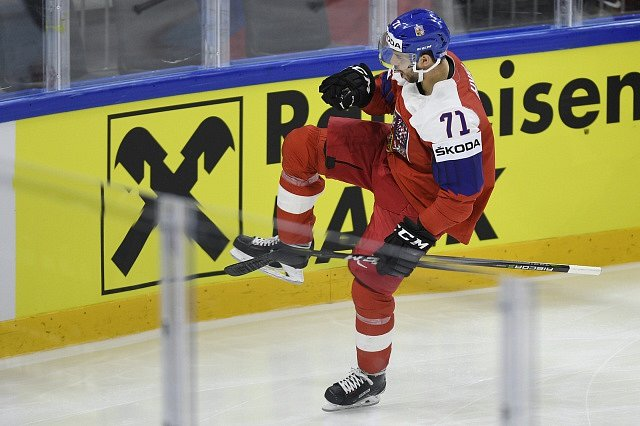 Česko - Rakousko, Tomáš Hyka slaví vedoucí branku.