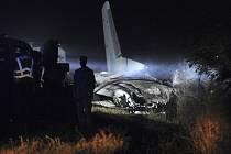 Nehoda vojenského letounu Antonov An-26 u města Čugujev na východě Ukrajiny 25. září 2020