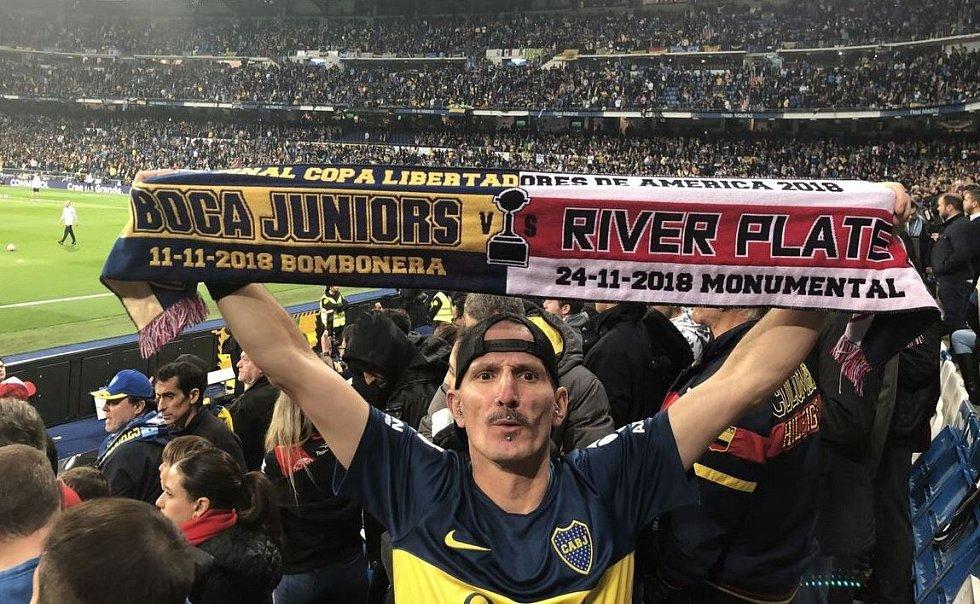 Miroslav Urbanec na zápase v Argentině