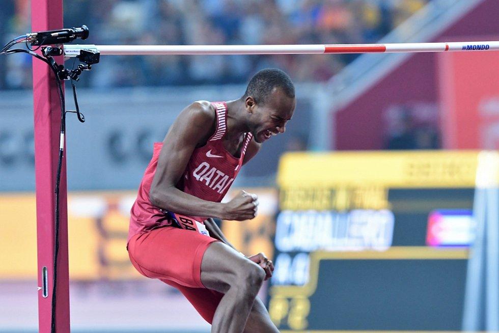Výškař Mutaz Essa Baršim obhájil na MS v Dauhá zlato
