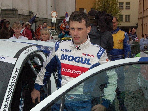 Roman Kresta na Mogul Šumava Rallye Klatovy.