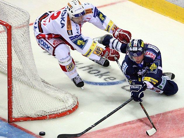 Hokejisté Liberce porazili Slavii 4:2.