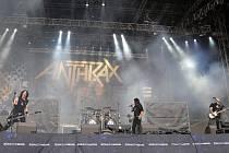 Americká thrashmetalová skupina Anthrax.