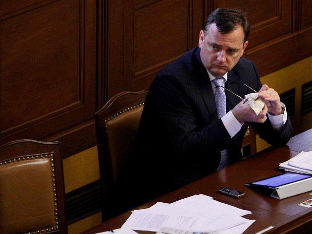 Předseda vlády Petr Nečas