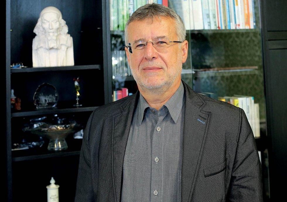 Ředitel Střední odborné školy Jarov Miloslav Janeček