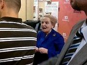 Bývalá ministryně zahraničních věcí USA Madeleine Albrightová.