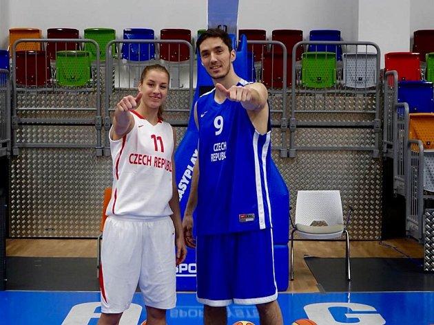 Tvářemi projektu To je basketbal jsou reprezentanti Kateřina Elhotová a Jiří Welsch.