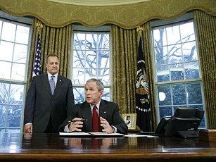 Očekává se, že prezident Bush oznámí návrh rozpočtu na rok 2009.