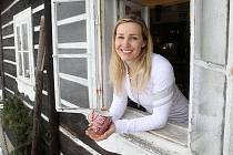 Tereza Kmochová má ráda lyžování v prašanu na freeridech
