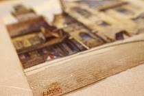 V Norimberku byl vydražen Hitlerův akvarel za 130.000 eur.