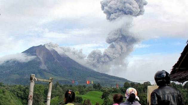 Sopka Mount Sinabung