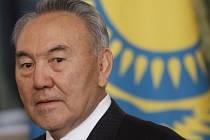 Kazašský prezident  prezident Nursultan Nazarbajev