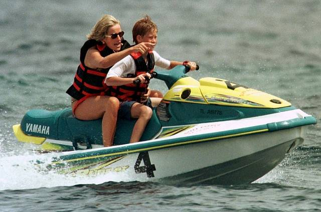 Diana se synem Harrym