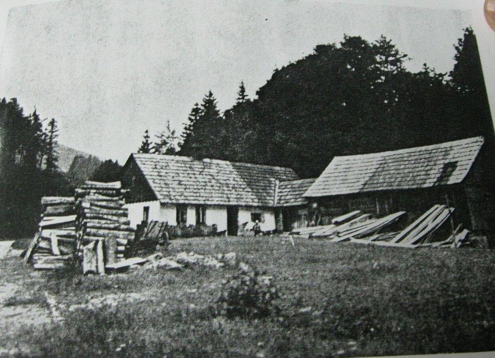 Dům v Nýznerově kde se narodil pamětník. Dům dnes již nestojí.