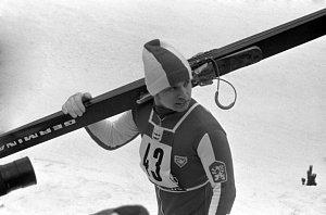 Skokan na lyžích Rudolf Höhnl
