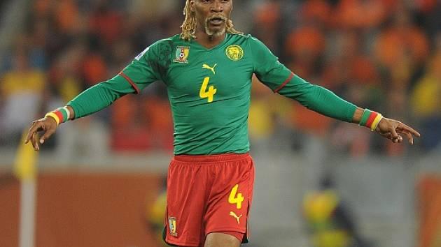 Rigobert Song v dresu kamerunské reprezentace