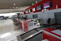 Stávka zaměstnanců Air France.