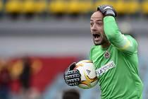 Brněnský brankář Martin Doležal protestoval proti gólu Dukly, ale na výsledek to nakonec nemělo vliv. Doležalovo Brno na pražské Julisce vyhrálo.