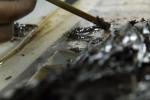 Zkoumání bambusových destiček z hrobky markýze z Haihunu v čínské provinciiŤiang-si