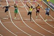 Jamajčan Omar McLeod zvítězil na mistrovství světa v závodě na 110 metrů překážek