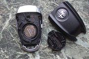 Klíč od vozu značky Alfa Romeo