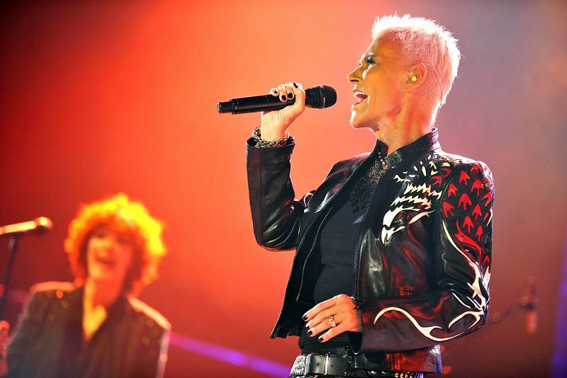 Zpěvačka kapely Roxette Marie Fredriksson