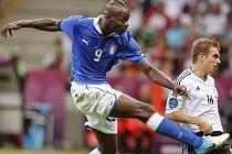 Italský hrdina Mario Balotelli.