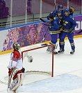 Česko - Švédsko: Druhý gól v síti Jakuba Kováře