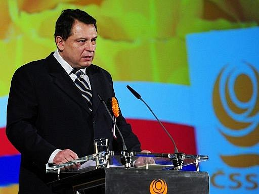Předseda ČSSD Jiří Paroubek na programové konferenci strany