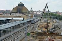 Plzeňské nádraží - rekonstrukce