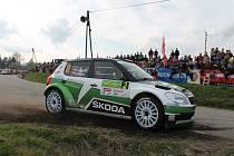 Jan Kopecký na Rallye Šumava.