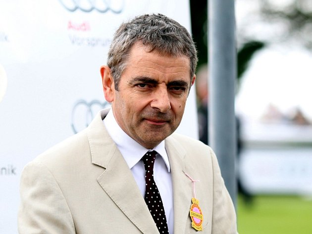 Britský herec Rowan Atkinson