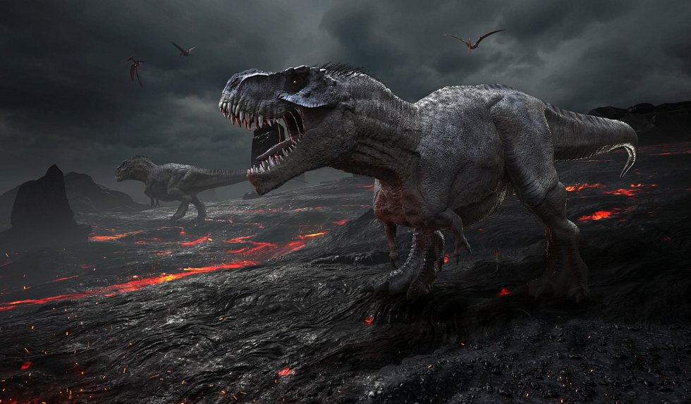 Vyhynutí dinosaurů.