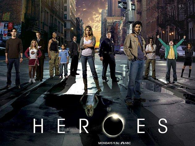 Úspěšný americký seriálový hit Hrdinové (Heroes) míří na české obrazovky.