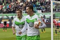 Wolfsburg porazil Ingolstadt, vítězný gól dal Julian Draxler