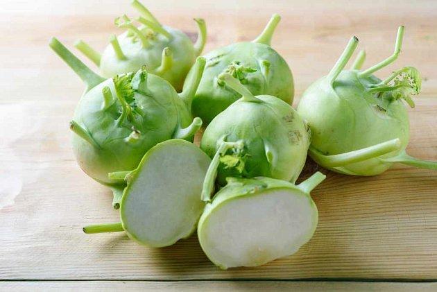 Zelenina - kedlubny