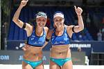 Beachvolejbalistky MARKÉTA NAUSCH-SLUKOVÁ (33) a BARBORA HERMANNOVÁ (30) se chystají na olympiádu.