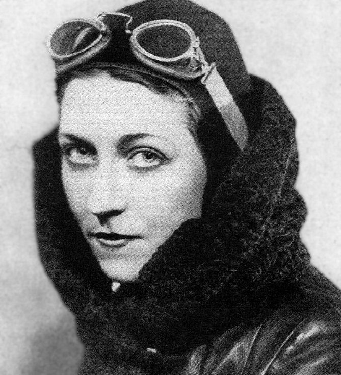 Amy Johnsonová v květnu roku 1930