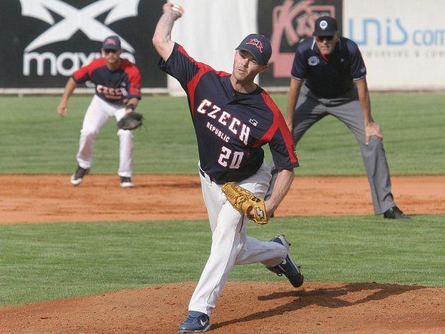 Čeští baseballisté. Ilustrační foto.