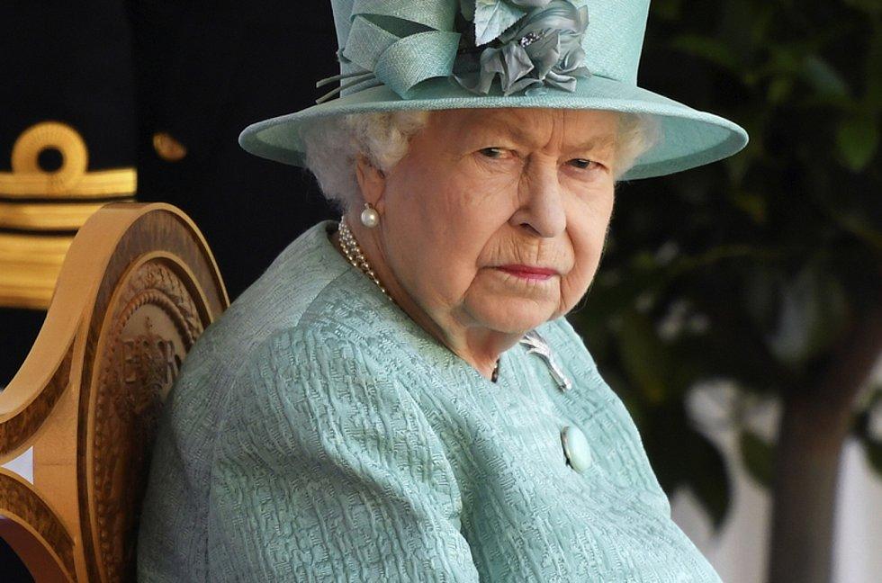 Britská královna Alžběta II. na své oficiální oslavě narozenin ve Windsoru