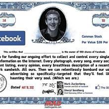 Facebook na burze