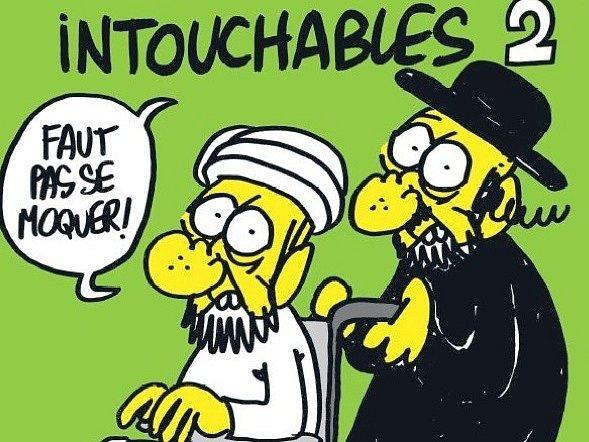 Francouzský satirický magazín Charlie Hebdo zveřejnil karikatury proroka Mohameda.
