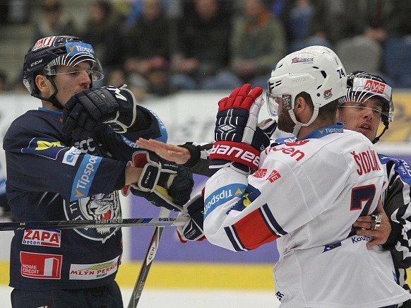 Chomutov - Liberec: Petr Šidlík (vlevo) a Vít Jonák
