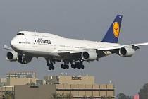 Boeing 747-8 Brandenburg německé letecké společnosti Lufthansa