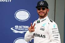 Lewis Hamilton vyhrál kvalifikaci na VC Austrálie.