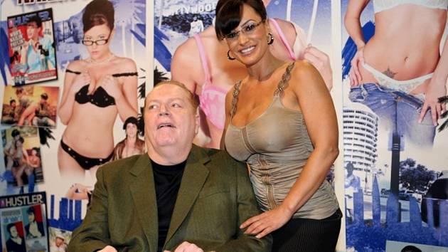 Šéf pornografického impéria a vydavatel časopisu Hustler Larry Flynt.
