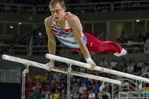 Gymnasta David Jessen do finále víceboje v Riu nepostoupil.