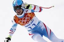 Matthias Mayer se na olympiádě v Soči postaral o překvapení, vyhrál sjezd.
