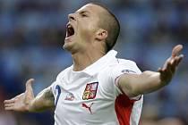 Střídající Václav Svěrkoš spasil české fotbalisty při úvodním zápase se Švýcarskem na ME. Češi vyhráli 1:0.