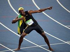 Sprinterský fenomén Usain Bolt. Bude se radovat ze zlata i na srpnovém MS v Londýně?
